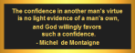 Confidence in Virtue