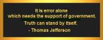 Error Alone
