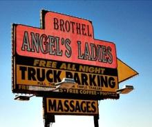 Nevada brothel sign photo