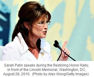 Sarah Palin, captioned