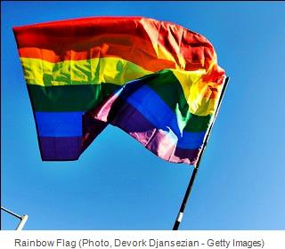 Rainbow Flag (Photo, Devork Djansezian - Getty Images)