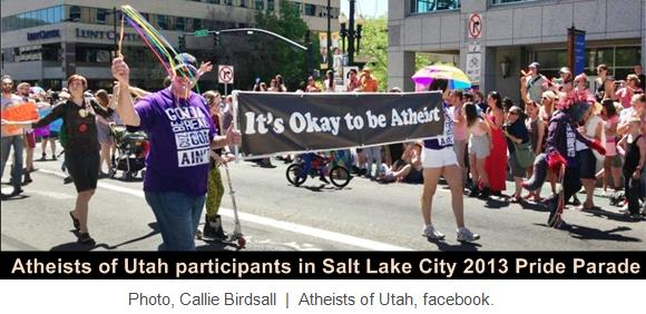 atheists-of-utah-2013-pride-parade, captioned
